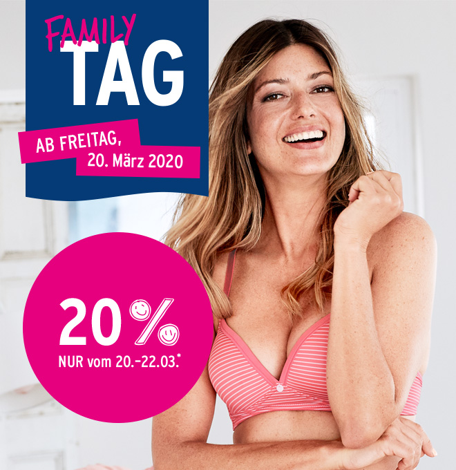 Family Tag: 20% auf alle Artikel aus dem Family Tag